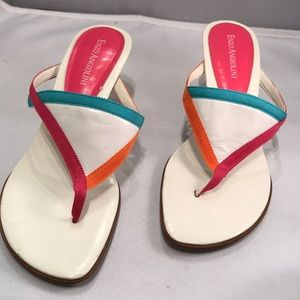 Enzo Angiolini 6.5 Eabrinton multi-color ribbon